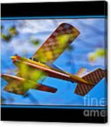 Model Plane 2 Canvas Print
