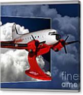 Model Planes Dc3 01 Canvas Print
