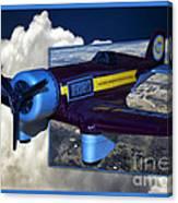 Model Planes Hershey 01 Canvas Print