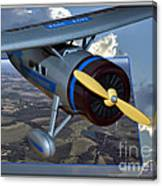 Model Planes Top Wing 04 Canvas Print