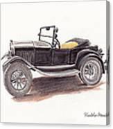 Model T.  Canvas Print
