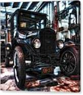 Model T In Hdr Canvas Print