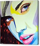 Model3 Canvas Print