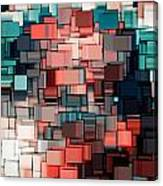 Modern Abstract Ix Canvas Print
