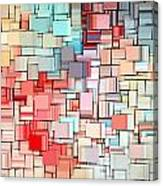 Modern Abstract X Canvas Print