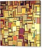 Modern Abstract Xxi Canvas Print