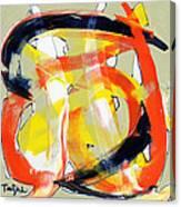 Modern Art Eighteen Canvas Print