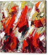 Modern Art Thirty-two Canvas Print