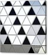 Modern Building Facade Detail Canvas Print