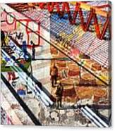 Modern Buildings Bejing China Canvas Print