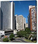 Modern Buildings In Central Rio De Canvas Print