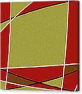 Modern Curve Oil Canvas Print