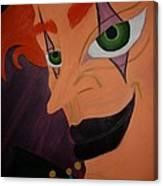 Modern Day Joker Canvas Print
