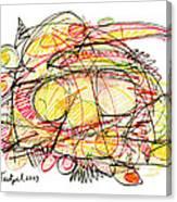Modern Drawing Seventy-eight Canvas Print