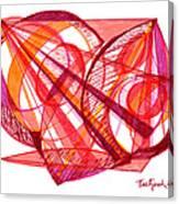 Modern Drawing Seventy-one Canvas Print