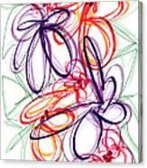 Modern Drawing Sixty-six Canvas Print