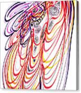Modern Drawing Sixty-three Canvas Print