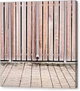 Modern Fence Canvas Print