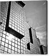 Modern Glass Building Canvas Print