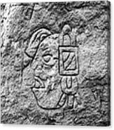 Modern Hieroglyphics Vii Canvas Print