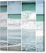 Modern Ocean Quad  Canvas Print