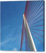 Modern Suspension Bridge Canvas Print