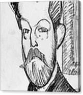 Modigliani - Paul Alexander Canvas Print