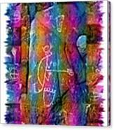 Mogollon Blanket Of Legends Canvas Print