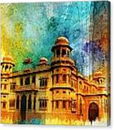 Mohatta Palace Canvas Print