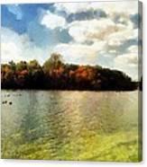 Mohegan Lake 3 Canvas Print