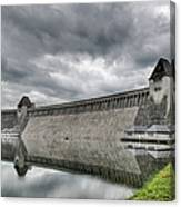 Mohne Dam Wide View Canvas Print