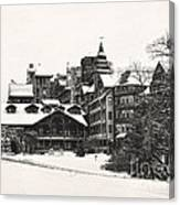 Mohonk Mountain House Canvas Print
