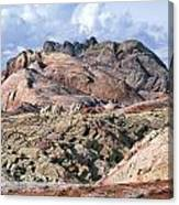 Mojave Desert View - Valley Of Fire Canvas Print