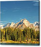 Molas Lake And The Needles Pan 1 Canvas Print