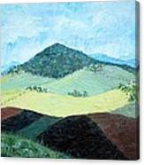 Mole Hill - Sold Canvas Print