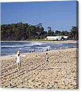 Mollymook Beach On The South Coast Of New South Wales Australia Canvas Print