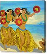 Moloka'i Hula 2 Canvas Print