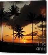 Moloki Sunset Canvas Print