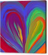 Molten Heart27 Canvas Print
