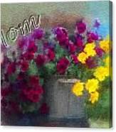 Mom Day 2014 Canvas Print