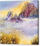 Moment Of Transition - Oregon Coast Canvas Print