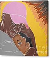 Mommy's Back Canvas Print