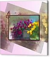 Moms Garden Art Canvas Print