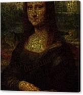 Mona Lisa Original Canvas Print