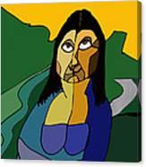 Mona Lisa Updated Canvas Print
