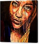 Mona X Miley Canvas Print