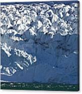 Monaco Glacier Liefdefjorden Norway Canvas Print
