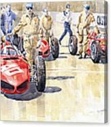 Monaco Gp 1961 Ferrari 156 Sharknose  Canvas Print