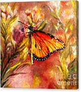 Monarch Beauty Canvas Print