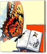 Monarch Books Canvas Print